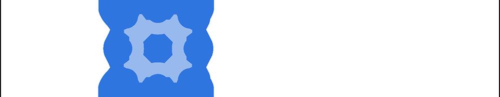 3D BioFibR Logo - white